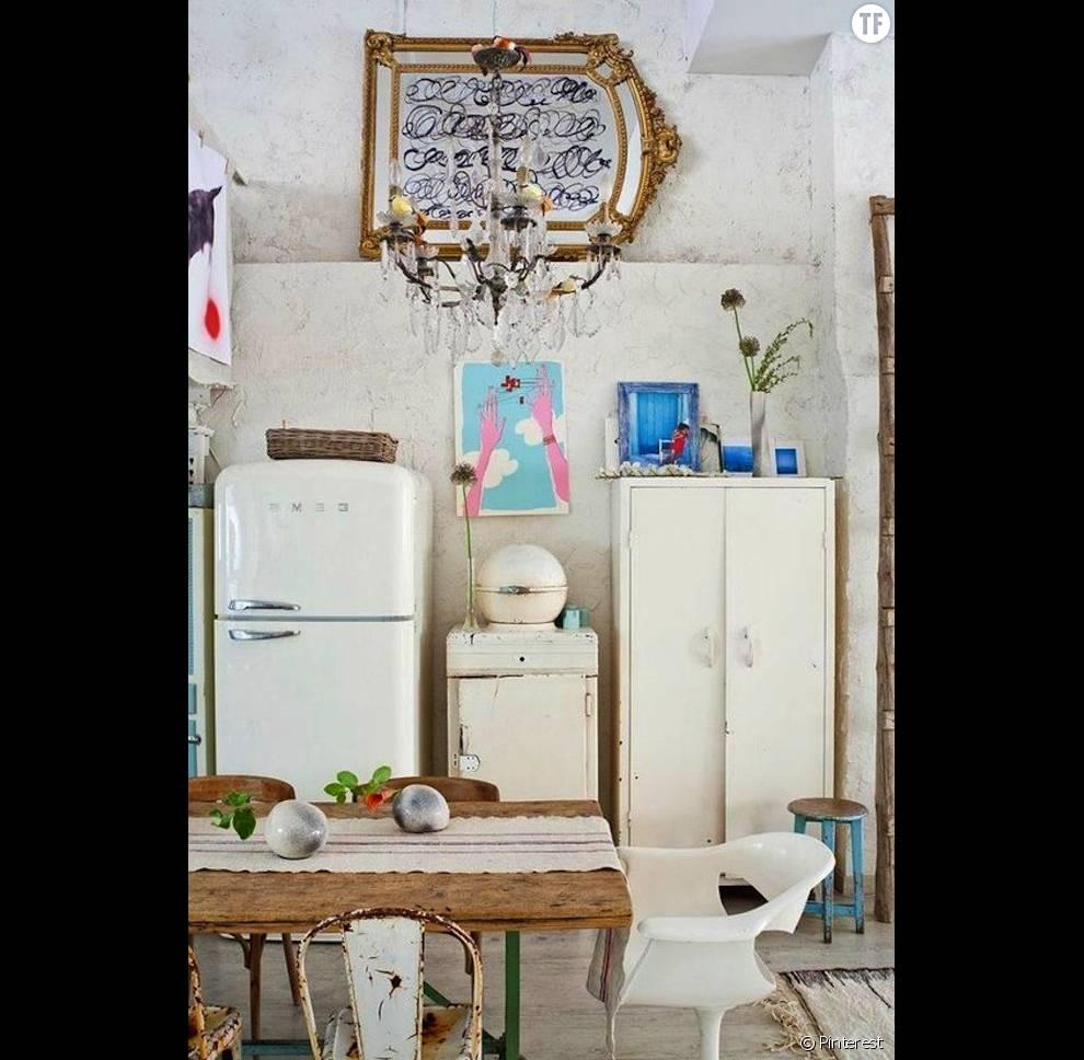 Assez idées de déco bohème repérées sur Pinterest : la cuisine (3) RI02