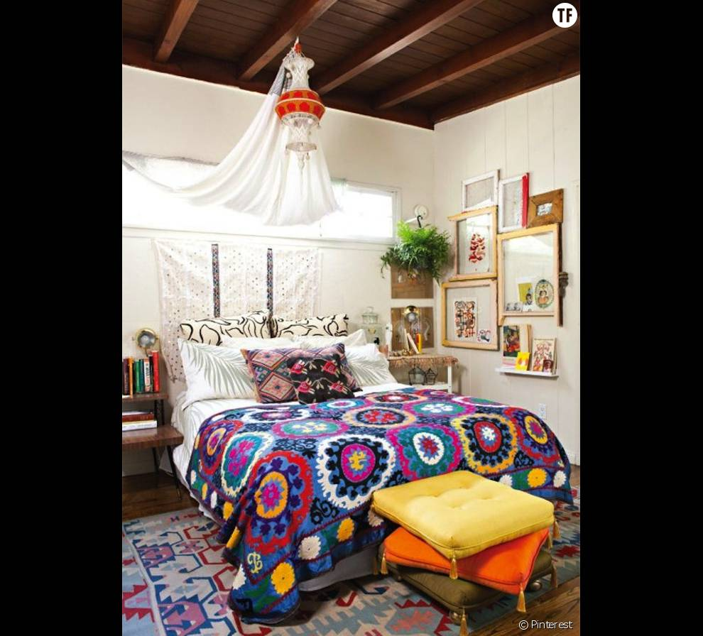 Deco hippie for Pinterest deco chambre