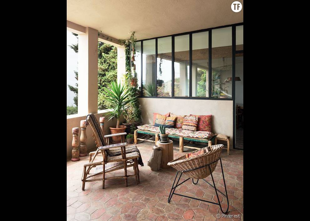 30 id es de d co boh me rep r es sur pinterest la terrasse 2 for Pinterest decoration salon
