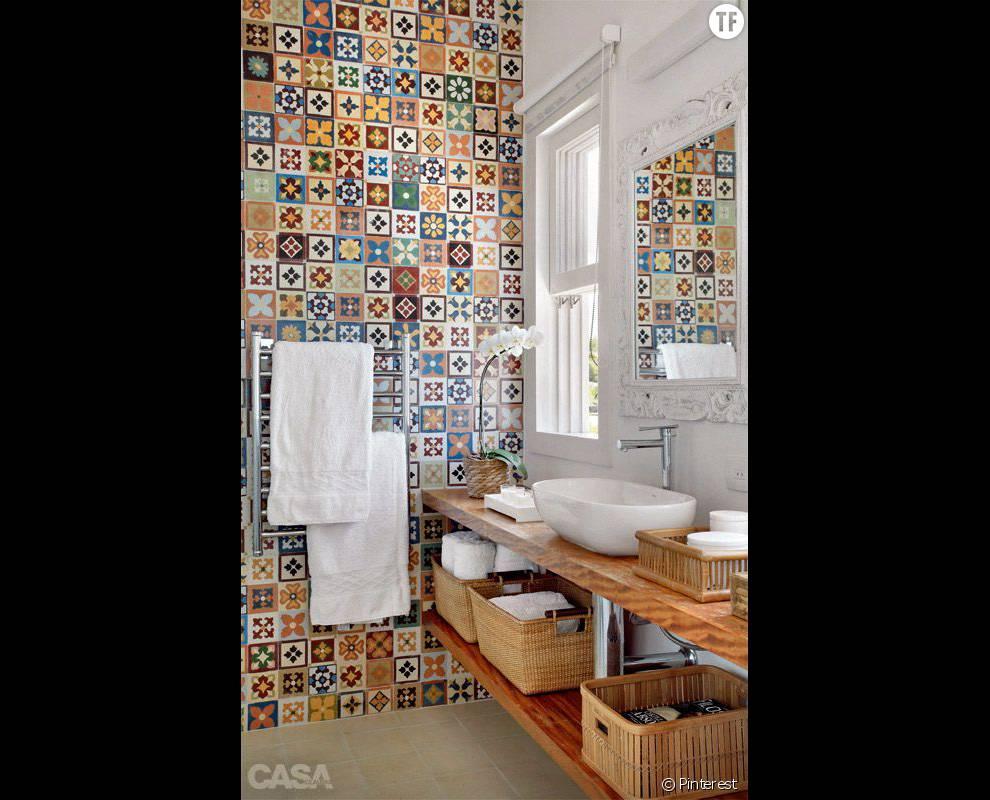 30 Idees De Deco Boheme Reperees Sur Pinterest La Salle De