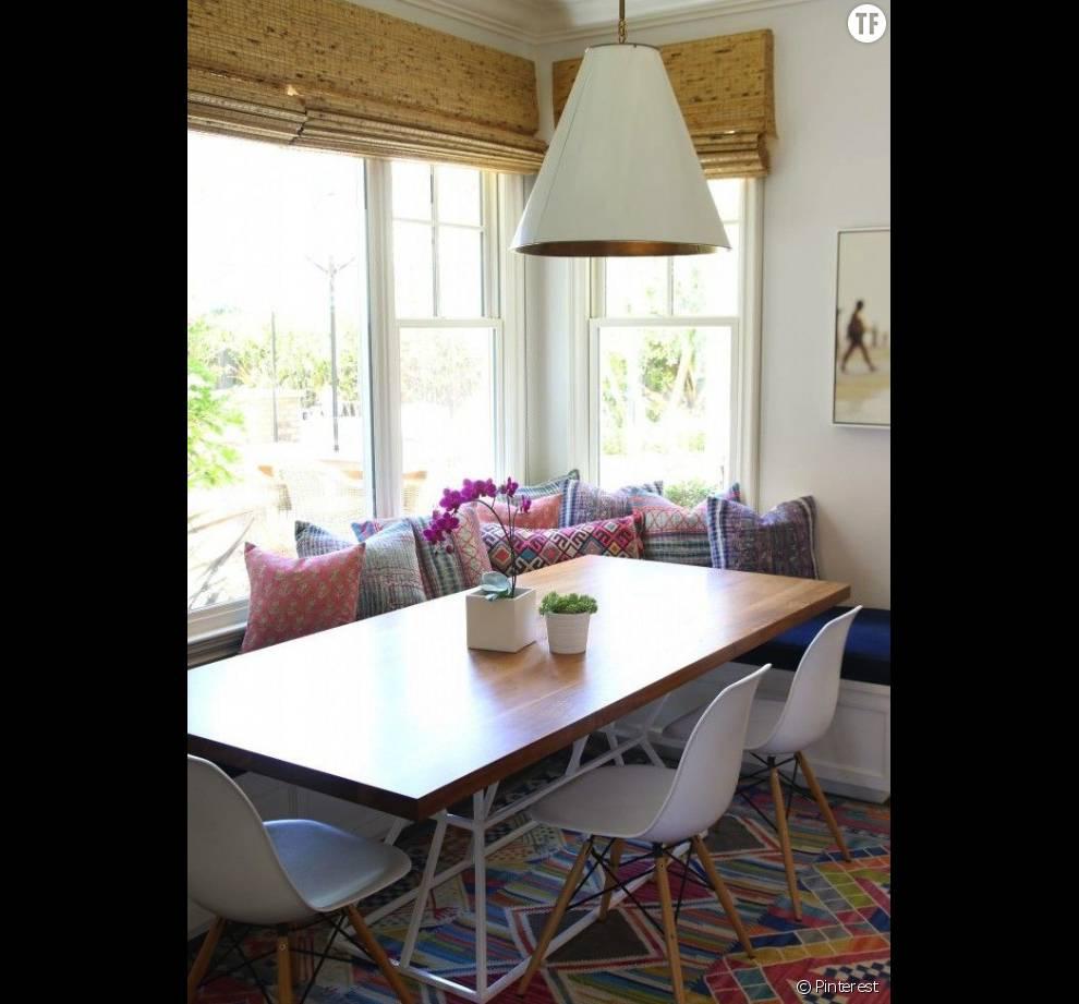 30 Idées De Déco Bohème Repérées Sur Pinterest : La Salle à Manger (3)