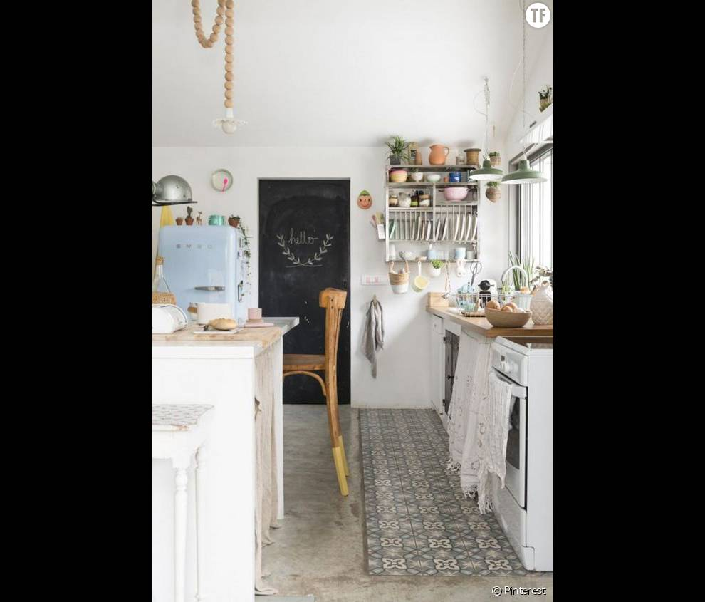 18 idées de déco bohème repérées sur Pinterest : la cuisine (18