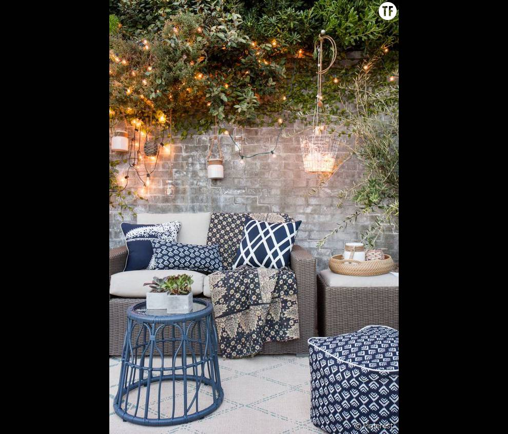 30 id es de d co boh me rep r es sur pinterest la for Pinterest deco jardin