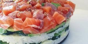 Sushi pie : la tarte hybride qui affole la toile