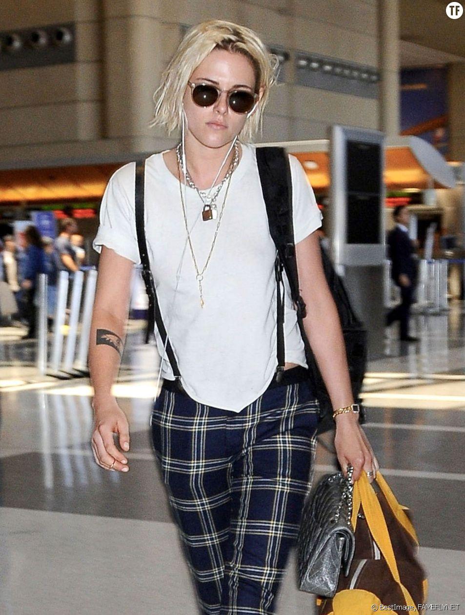 L'actrice Kristen Stewart arrive au Festival de Cannes