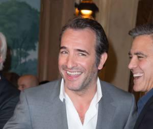 Jean Dujardin et George Clooney