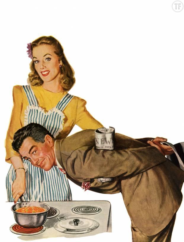 Le but : que l'homme n'ait qu'à poser les pieds sous la table, enfin !