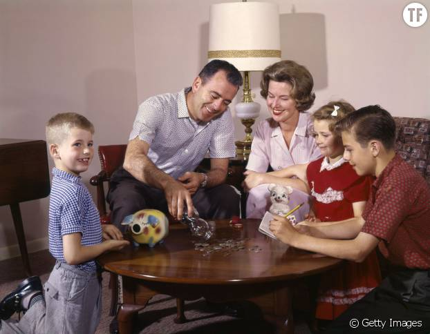La parfaite petite famille des années 50