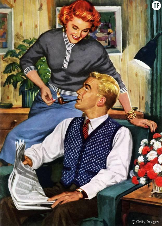 Ecoutez-le en silence : la femme parfaite sait qu'elle n'est jamais aussi intéressante que son fabuleux mari