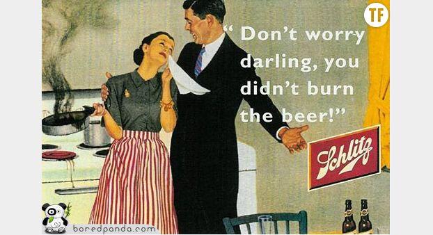 Epargnez à votre mari vos stupides problèmes de femme.