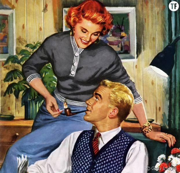 Le guide de la parfaite mère au foyer dans les années 50