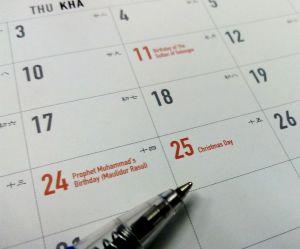 Jours fériés 2017: toutes les dates et le calendrier (Toussaint, Pentecôte, Ascension...)