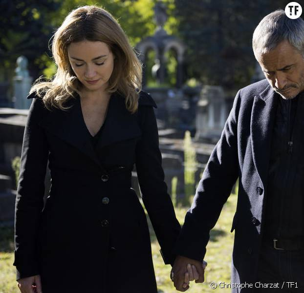 Marine Delterme et Jean-Michel Tinivelli dans la saison 14 d'Alice Nevers, le juge est une femme