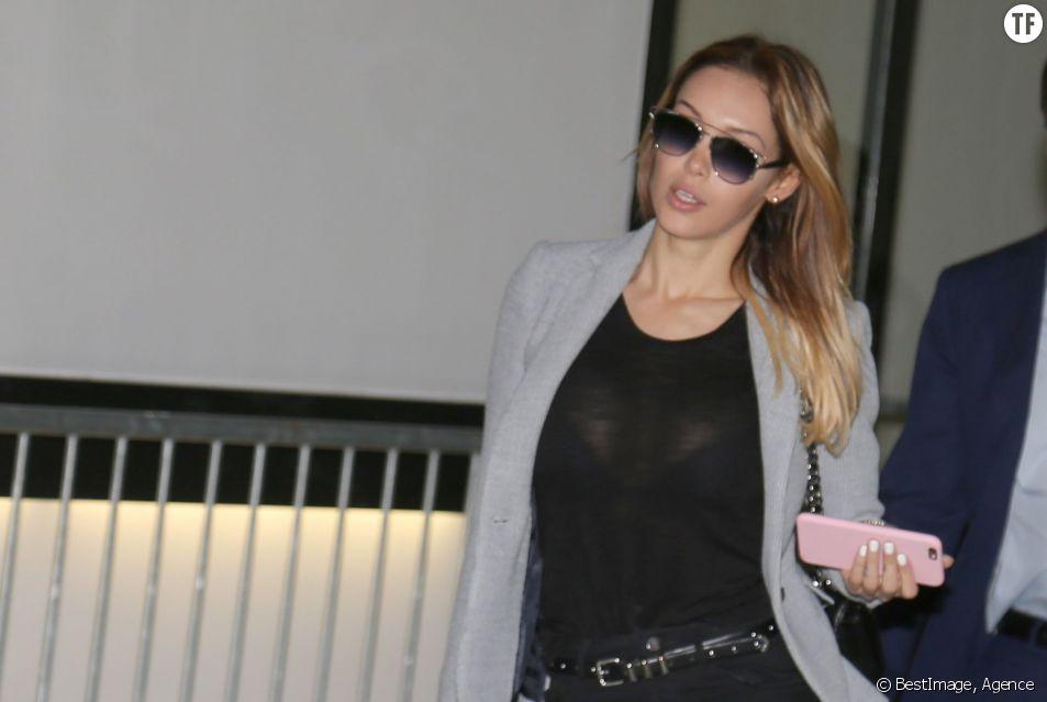 Nabilla Benattia comparaît devant le tribunal correctionnel de Nanterre, suite à l'affaire du coup de couteau sur son conjoint, Thomas Vergara le 19 mai 2016
