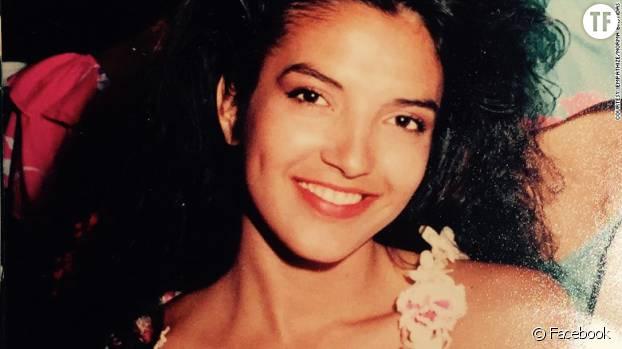 Une photo de Norma Bastidas à 19 ans, lorsqu'elle a été prise au piège dans un trafic humain