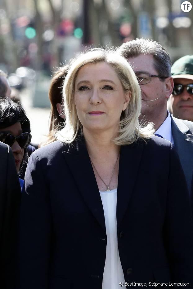 Marine Le Pen en mai 2016