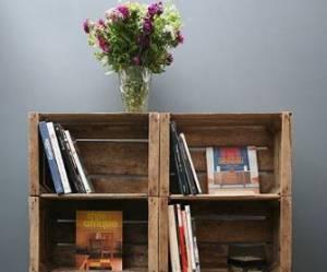 10 idées déco originales pour recycler une vieille caisse en bois