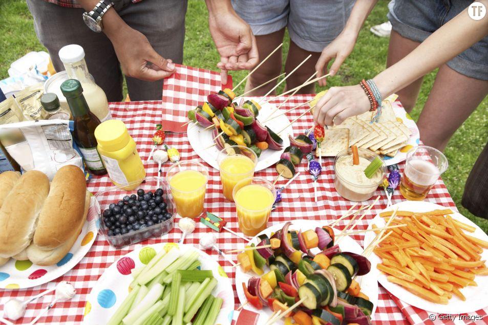 Recettes pour un barbecue végétarien
