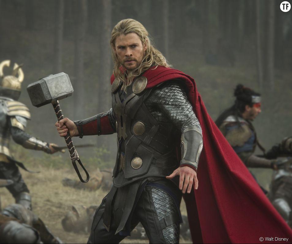 L'acteur Chris Hemsworth dans la saga Thor