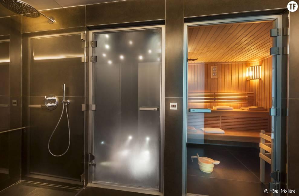 sauna hammam espace d tente l 39 h tel moli re tout pour