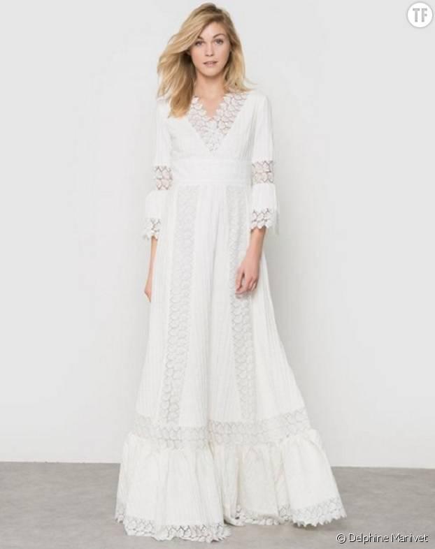 Robe de mariée Delphine Manivet pour La Redoute.