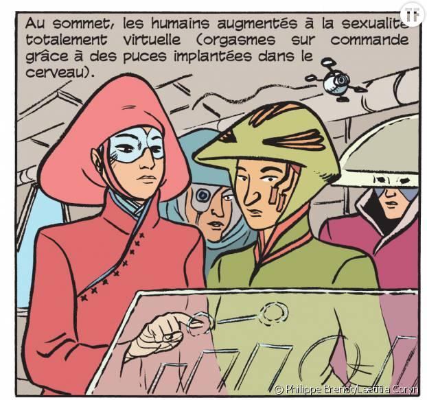 """Sex Story"", BD de Philippe Brenot et Laetitia Coryn"