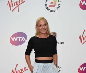 """Donna Vekic - Soirée """"WTA Pre-Wimbledon"""" à Londres le 19 juin 2014"""