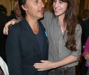 Yvan Attal et sa femme Charlotte Gainsbourg