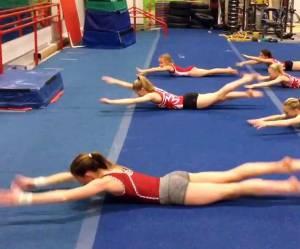 Voici comment les gymnastes travaillent leurs abdos