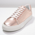 Zign,  baskets basses rose gold , 70 euros