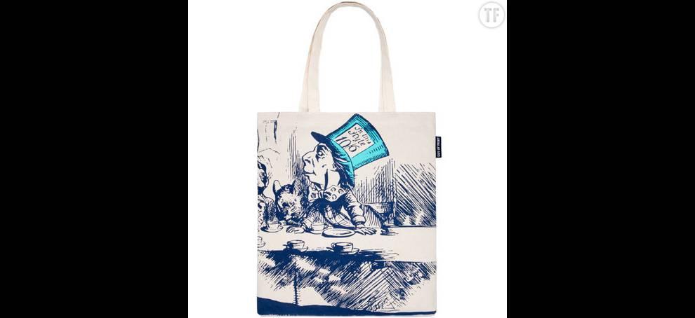 Tote bag imprimé sur The Literary Gift Company, 17€
