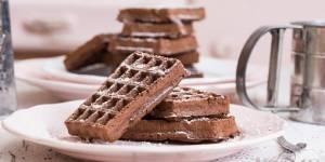 La gaufre-brownie express : la recette à faire en 5 minutes chrono