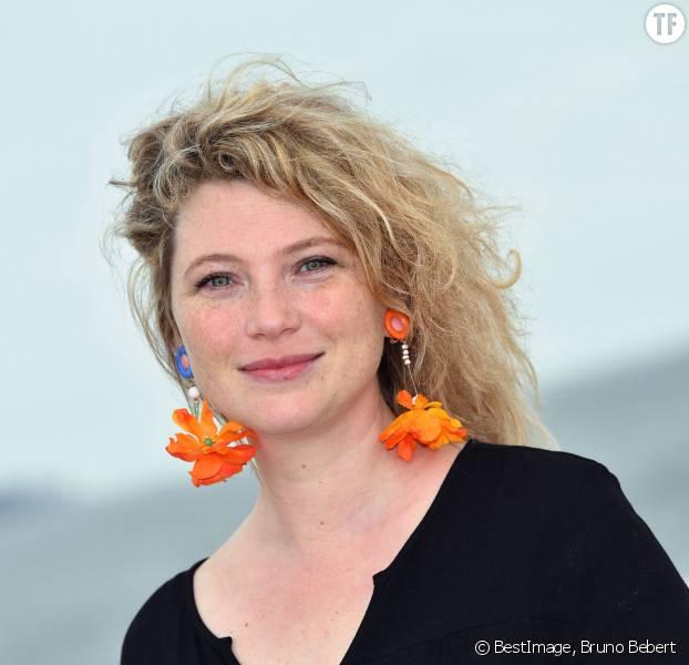 L'actrice Cécile Bois