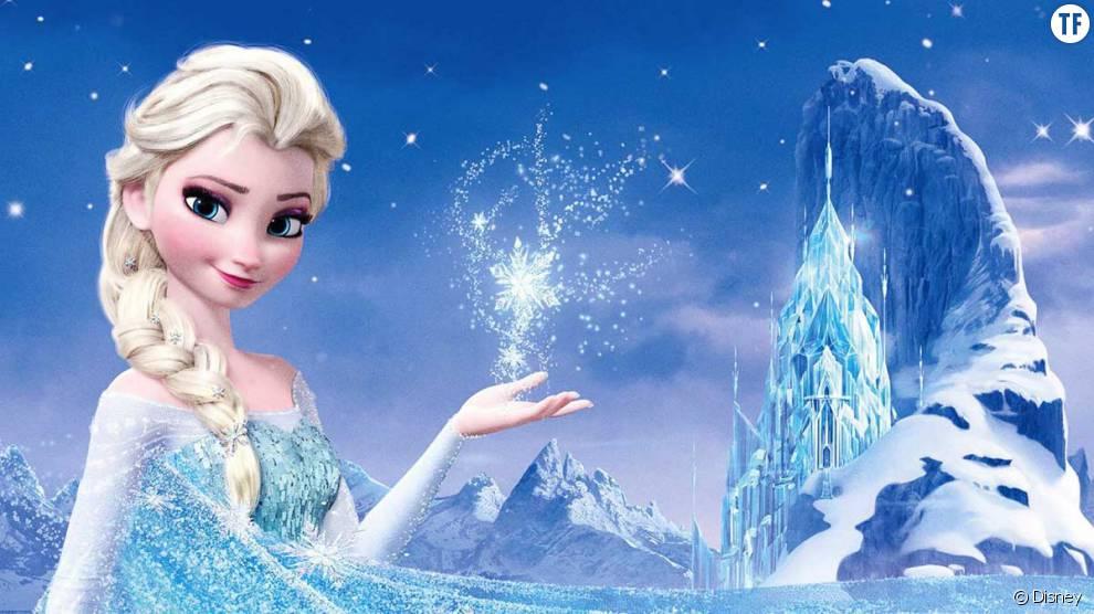 Elsa dans la reine des neiges terrafemina - Chateau elsa reine des neiges ...