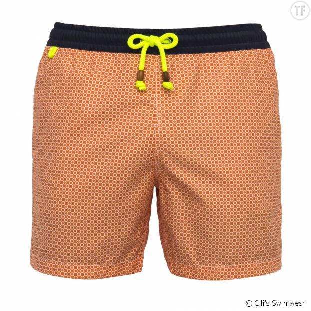 "Maillot de bain Trawangan ""Orange Brazilian Lençois"" Gili's Swimwear"