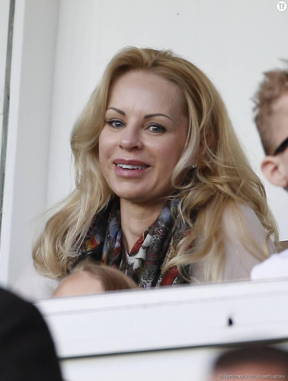 Helena Seger, la compagne de Zlatan en mai 2015