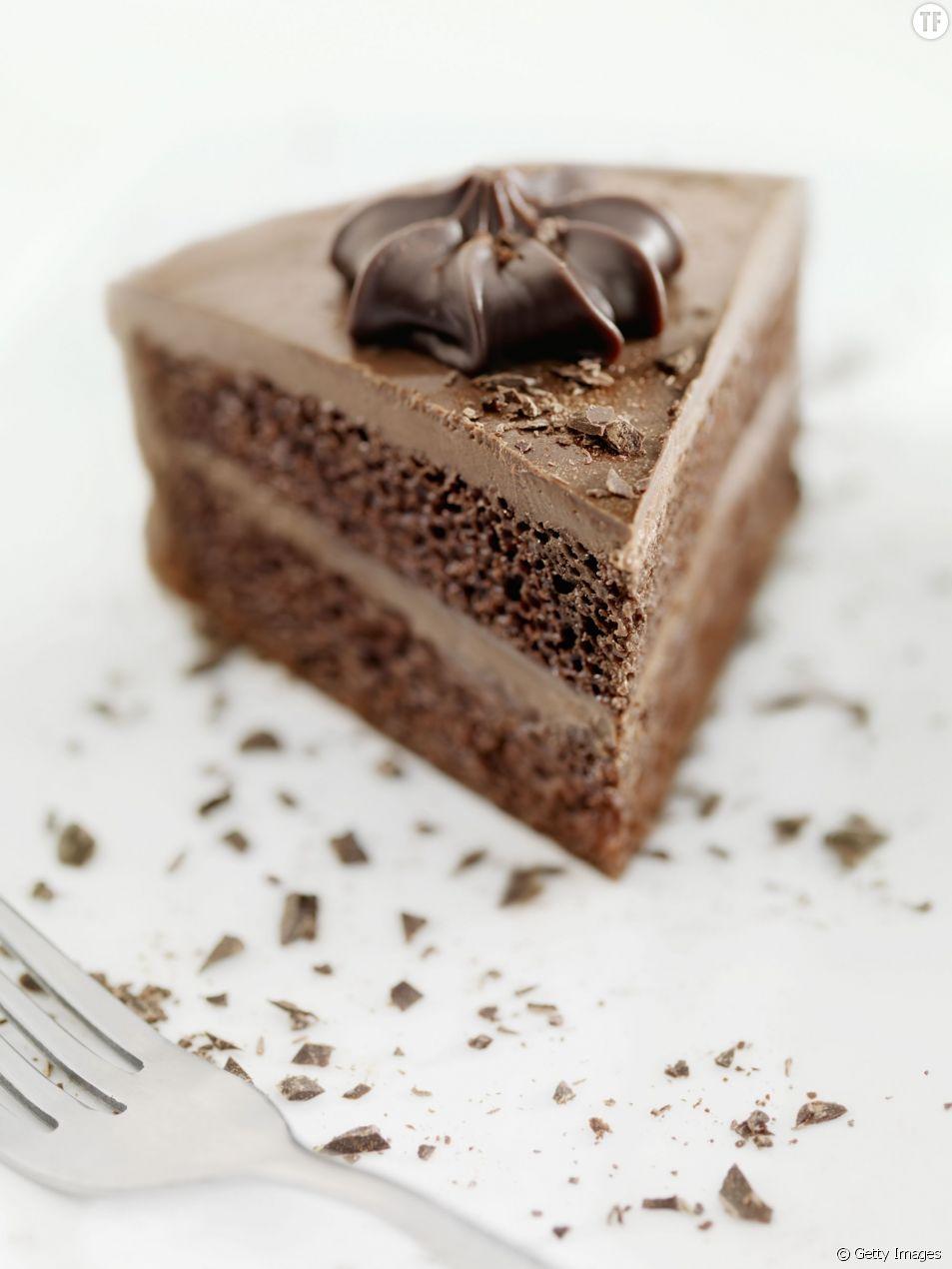 Le cheesecake au chocolat