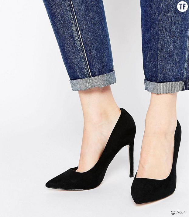 Les escarpins noirs, à porter en toute occasion.