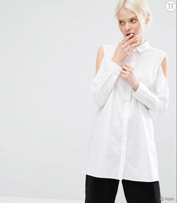 Impossible de se passer d'une chemise blanche!