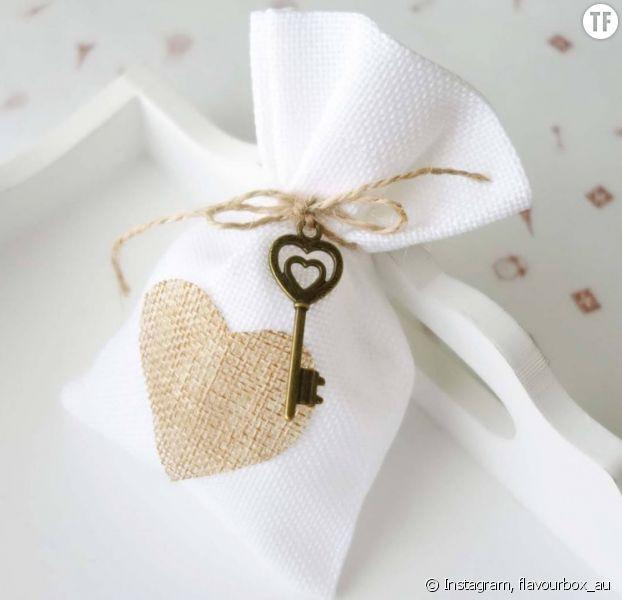 mariage 20 id es de petits cadeaux pour ses invit s. Black Bedroom Furniture Sets. Home Design Ideas