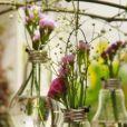 Des ampoules transformées en vases