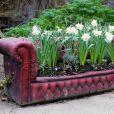 Un canapé jardinière