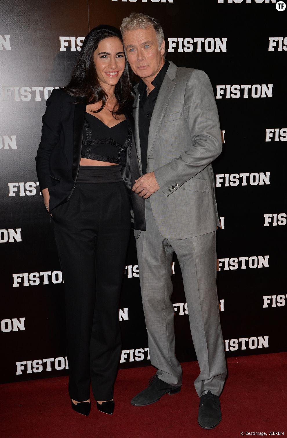 Franck Dubosc et son épouse Danièle