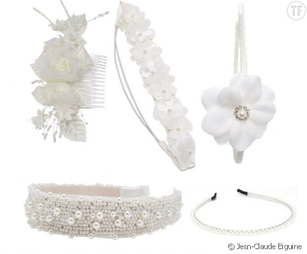 Pour convoler en beauté, on craque pour l'un de ces accessoires signés Jean-Claude Biguine.