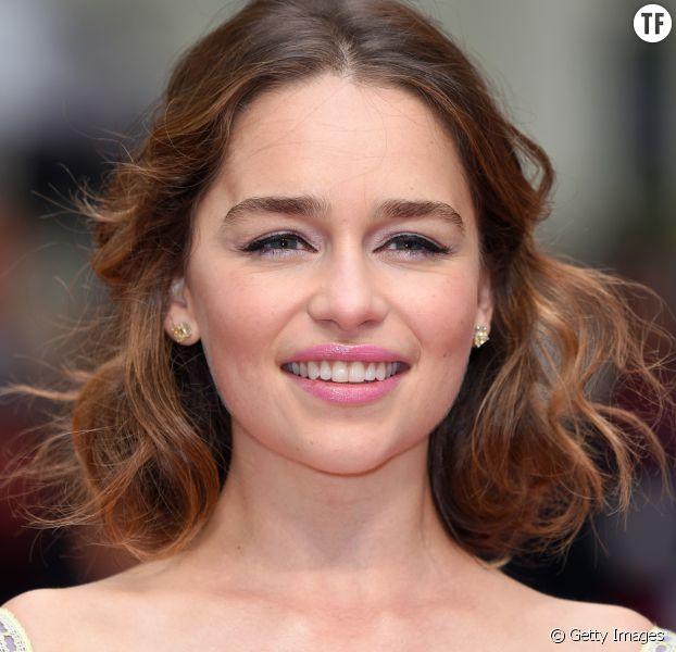 Emilia Clarke à la première européenne du film Avant Toi au Curzon Mayfair de Londres le 25 mai 2016