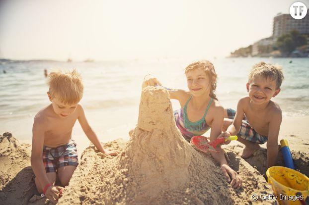 Et c'est parti pour les châteaux de sable