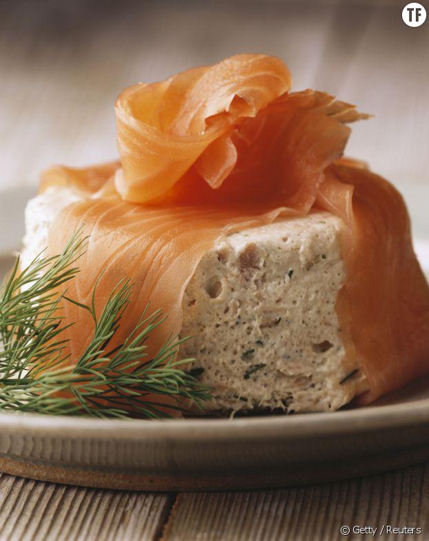 La recette du bavarois d'avocat et saumon fumé sans gluten