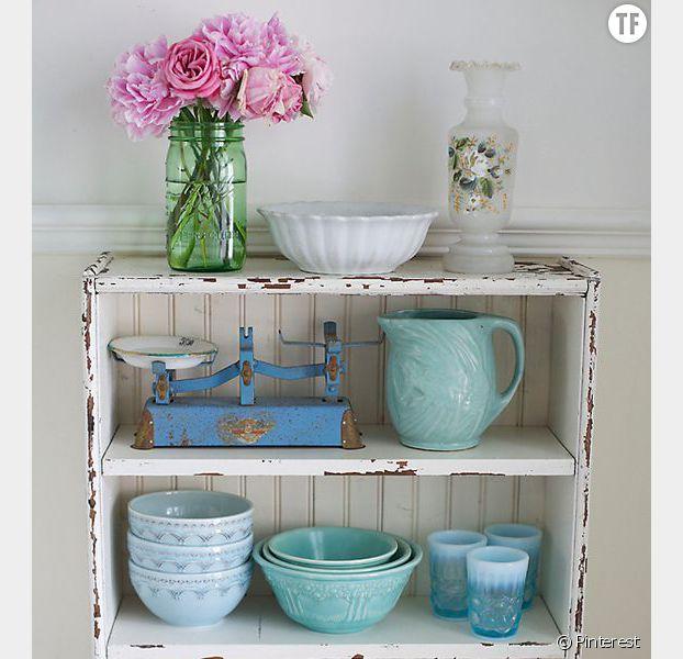 Bevorzugt Déco shabby : 20 idées répérées sur Pinterest pour un intérieur  BI51