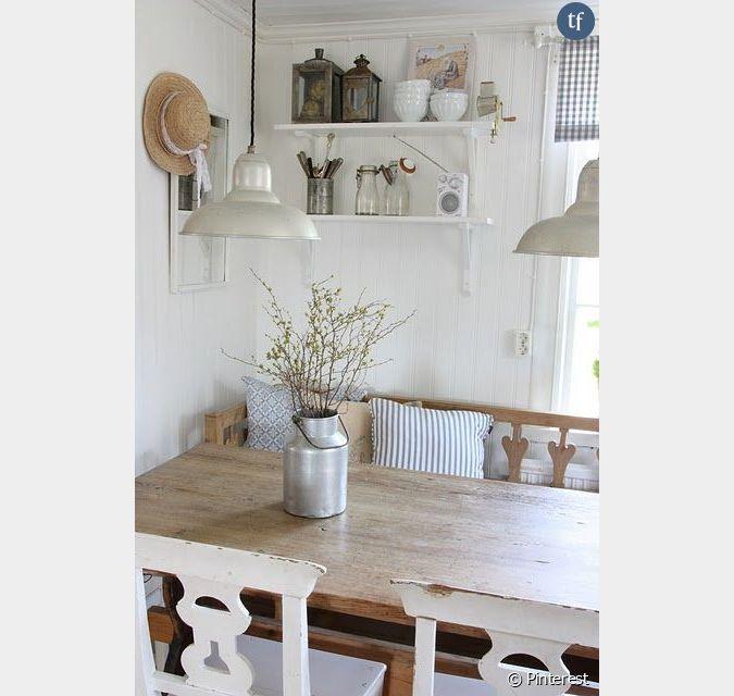 d coration shabby inspiration salle manger ou cuisine. Black Bedroom Furniture Sets. Home Design Ideas
