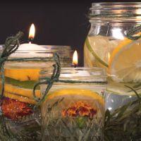 diy comment fabriquer une bougie la citronnelle contre les moustiques. Black Bedroom Furniture Sets. Home Design Ideas